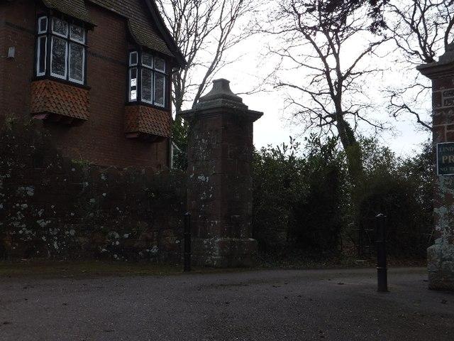 An entrance to Lindridge Park