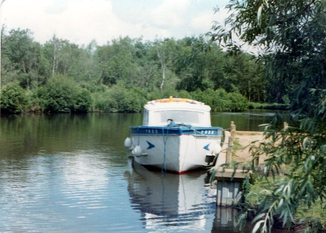 Barton Broad - Gayes Staithe 1980