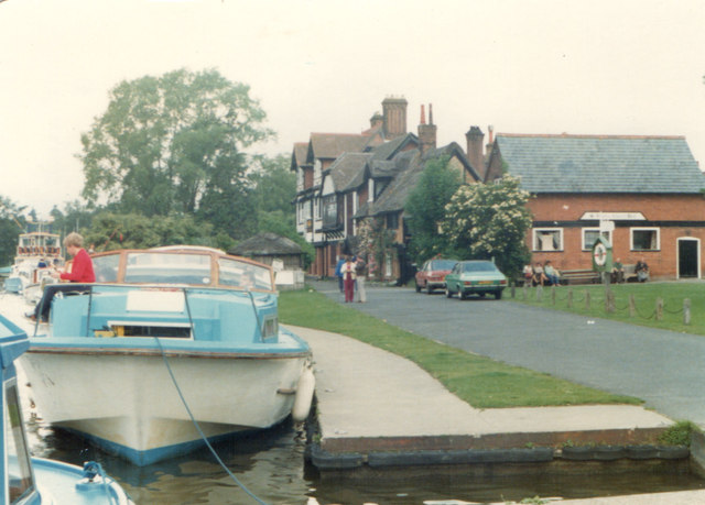 Moored at Horning 24.6.80
