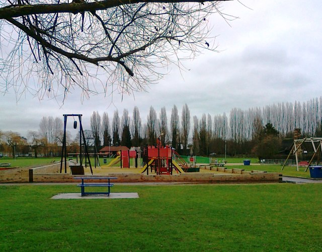 Play area, Christchurch Meadows