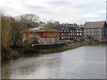 TQ4210 : River Ouse, Lewes by Alex McGregor