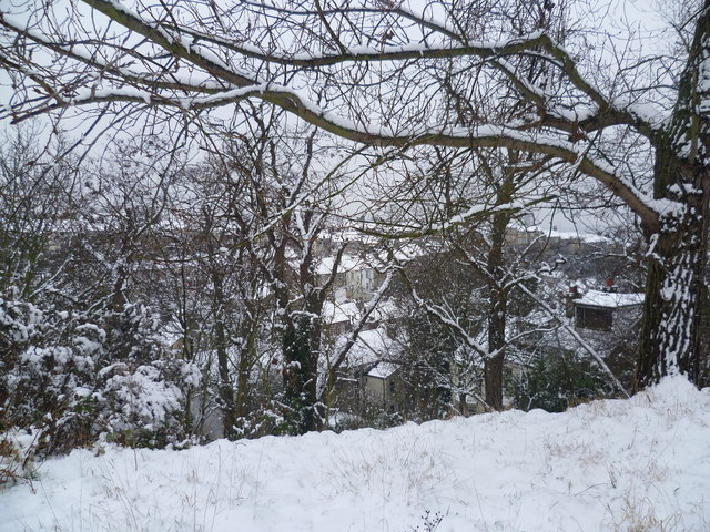 The Slade in the snow