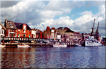 SY6878 : Weymouth Custom House Quay 1981 by Roy Hughes