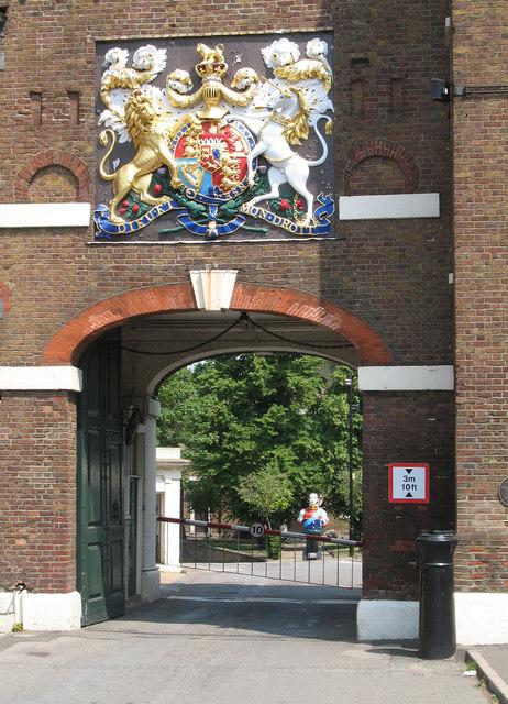 Chatham Dockyard Main Gate