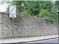 SE3171 : Ripon, Minster Road, wall by Brian Westlake