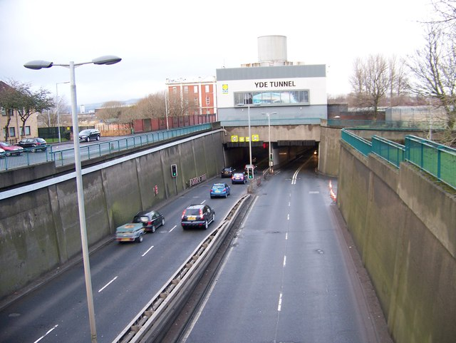 Clyde Tunnel Southern Entrance
