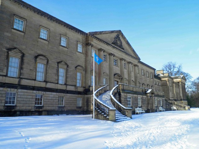 Flying the flag for Yorkshire at Nostell Priory