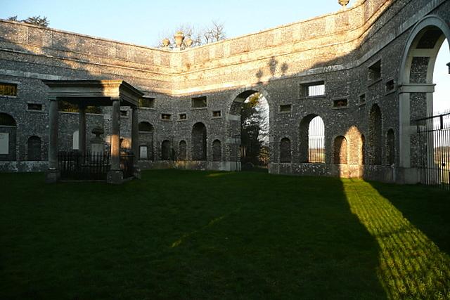 West Wycombe mausoleum