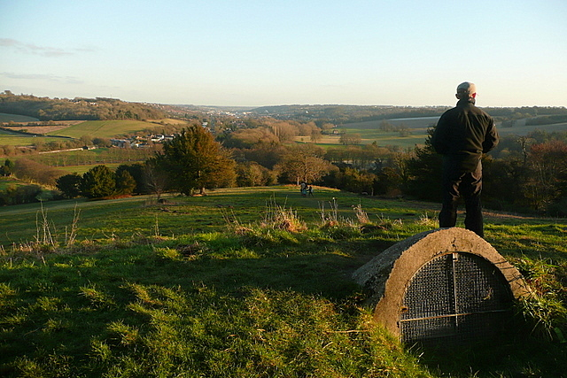 On West Wycombe Hill