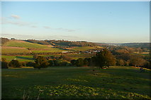 SU8294 : View from West Wycombe Hill by Graham Horn