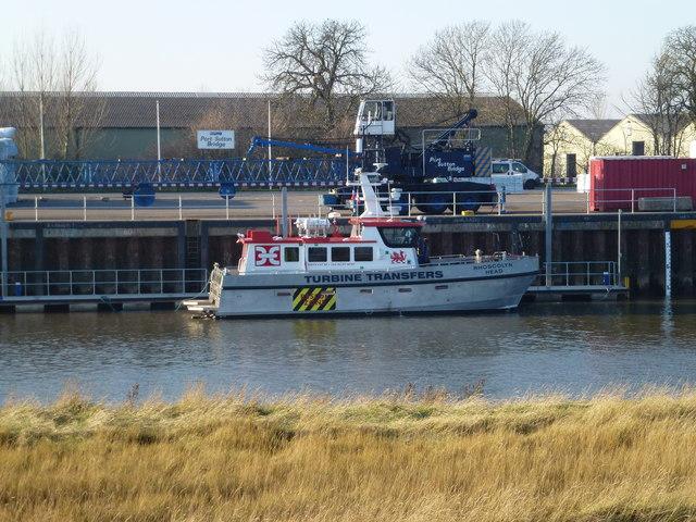 Turbine Transfers - Port Sutton Bridge