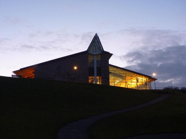 East Lothian Townscape : Dunbar Leisure Pool