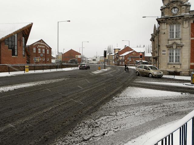 Blackburn Street - Spring Lane Junction