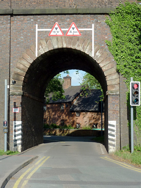 Railway arch at Penkridge, Staffordshire
