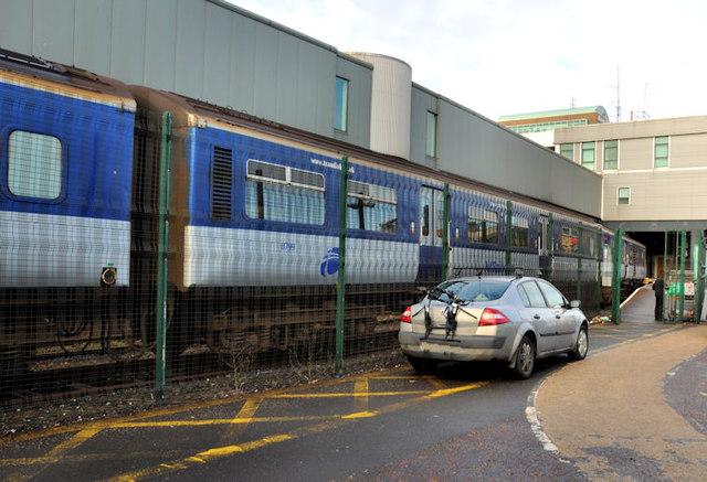Siding, Central station, Belfast