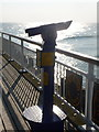 SZ0890 : Bournemouth: talking telescope on the pier by Chris Downer