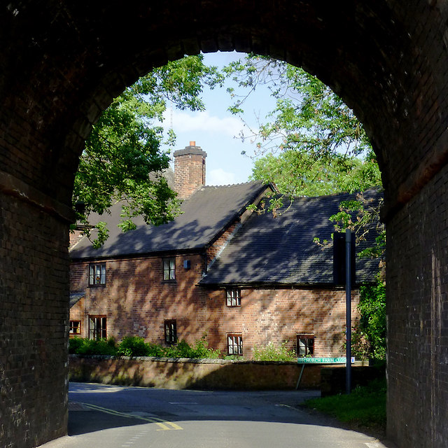 Church Farm in Penkridge, Staffordshire