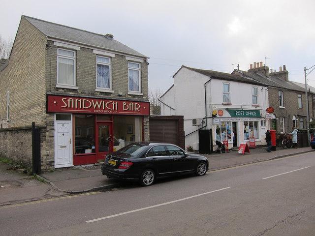 Sandwich Bar, Chesterton High Street