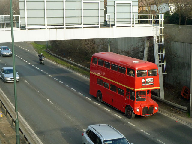 Routemaster RM1799 on A2
