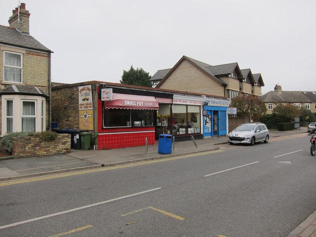 Local shops, Chesterton