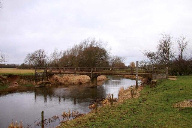 White Bridge over the River Cherwell