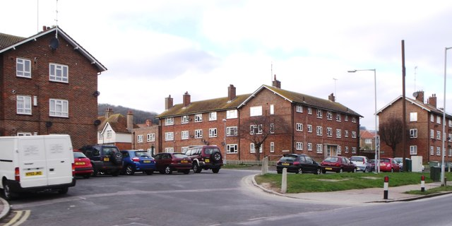 Flats in Central Avenue, Old Town, Eastbourne