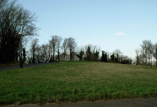 Grassy area, Upland Road, Eastbourne