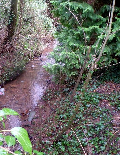 St Cybi's Brook, Llangybi