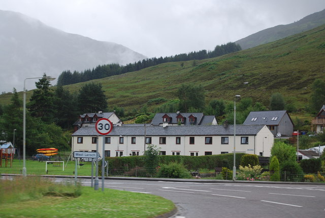 A row of  houses, West Laroch