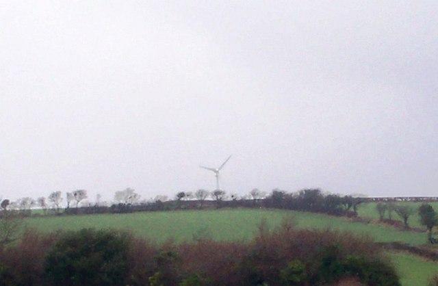 Wind Turbine, Crosslands, Llanteg