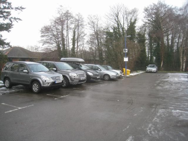 Fleet station car park