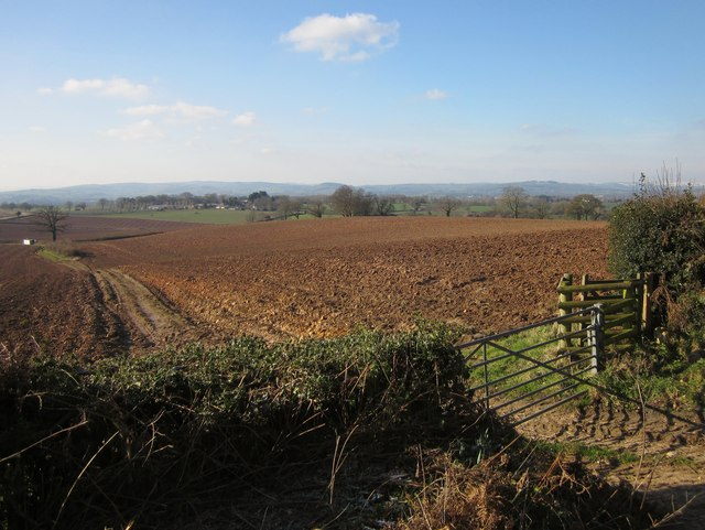 Ploughed field, Highwood's Farm