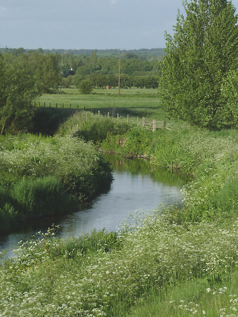 The River Penk at Penkridge, Staffordshire