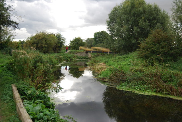 Footbridge over the River Gipping