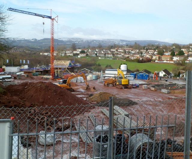 Building site, Westfield Way, Newport