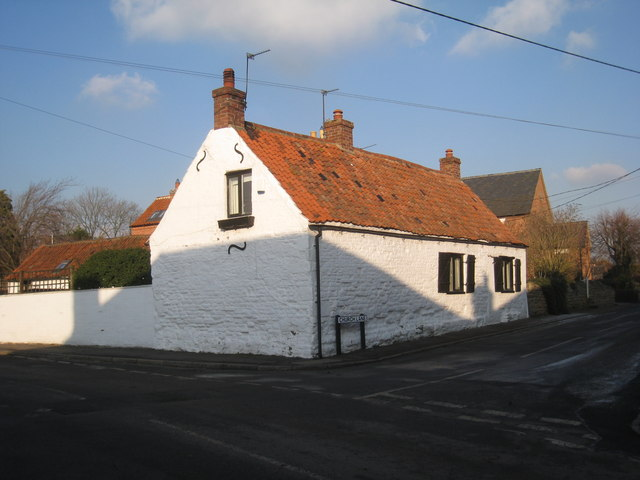 Cottage on the corner of Granby lane and Church Lane, Plungar