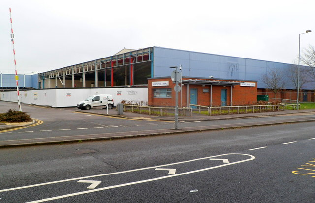 First stage in construction of a new Marks & Spencer store, Newport Retail Park(1)