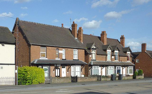 Housing on Stafford Road, Penkridge