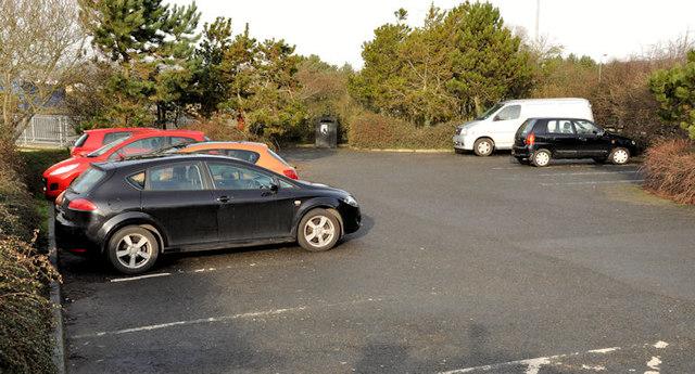 The Floodgates car park, Newtownards