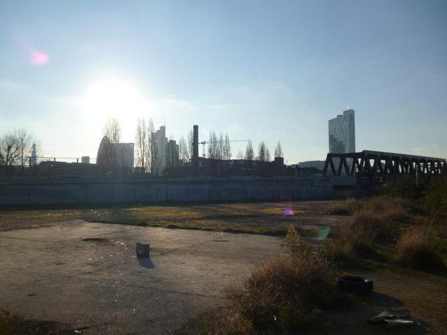 Industrial skyline, Bratley Street E2