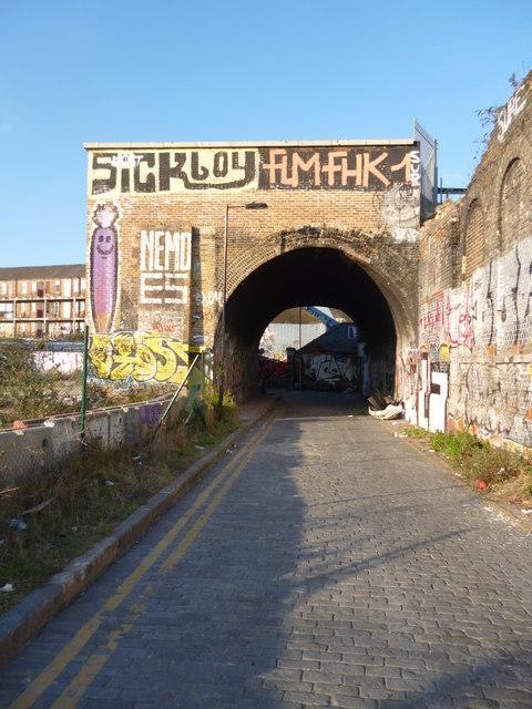 Bridge, Bratley Street E2
