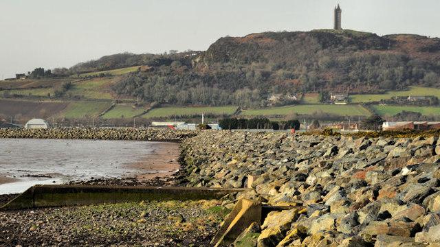 Sea defences, Newtownards (4)