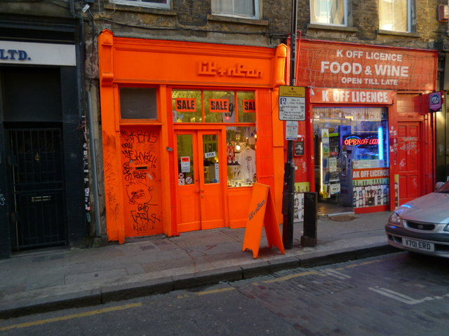 Shops, Sclater Street E1