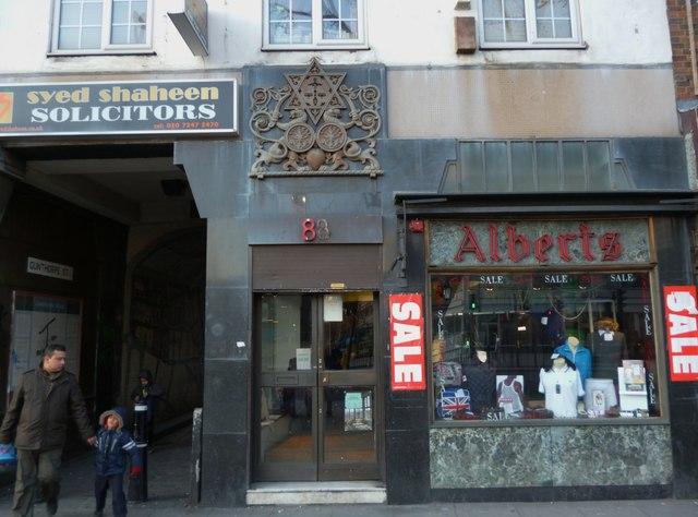 Alberts, 88 Whitechapel Road E1