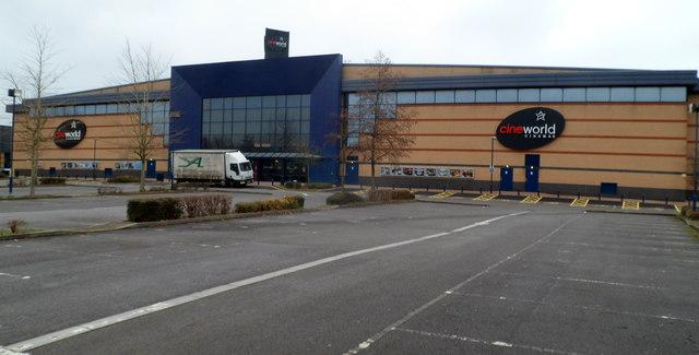 Cineworld Cinema, Newport Retail Park