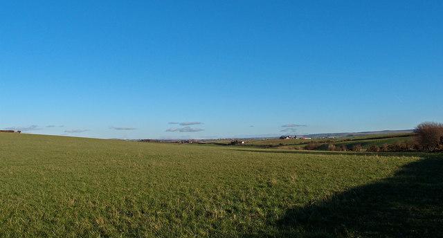 Farmland near Coylton