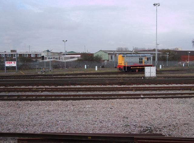 LNWR shunter and signage at Barton Hill Depot