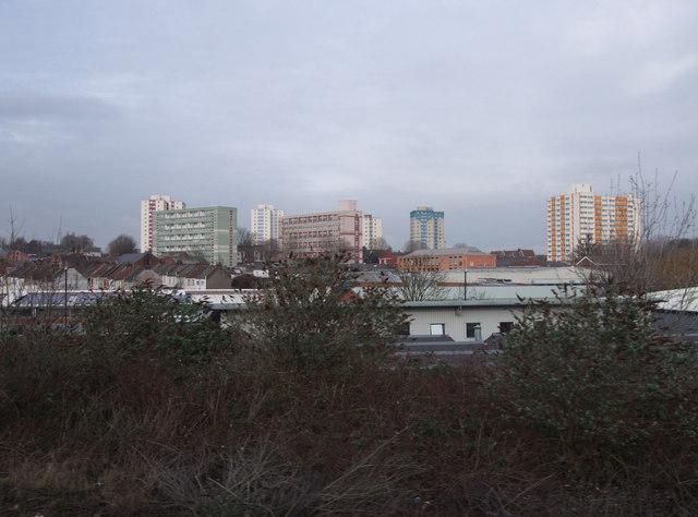 Barton Hill flats