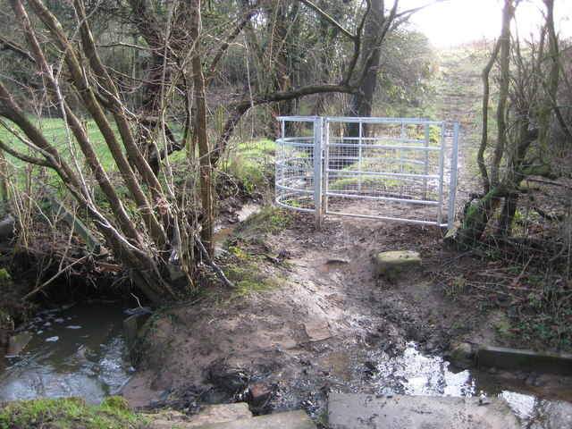 New 'kissing-gate' Wych Farm, Adlington