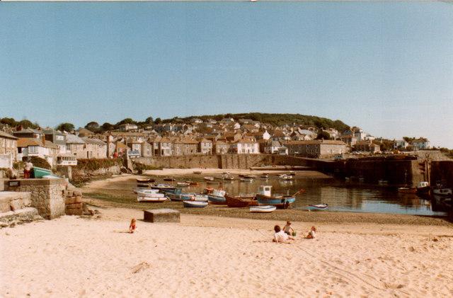 Mousehole Harbour 1983